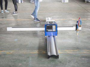 Нова технологія портативної машини з ЧПУ плазмовим різанням ціни малий бізнес виготовлення машин